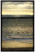 Sunset sea — Stock Photo