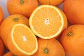 Biopsy of the orange — Stock Photo