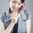 Attractive businesswoman using mobile phone — Stock Photo #14035310
