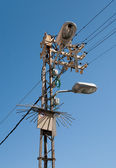 Electric pylon — Stock Photo