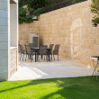 Stock Photo: Garden Patio