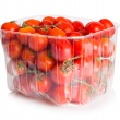 Stock Photo: Cherry Tomatoes in plastic package