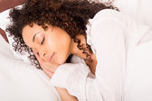 African woman slepping — Stock Photo