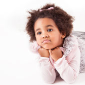 African descent child — Stock Photo