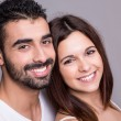 Portrait of a funny couple — Stock Photo #41380705