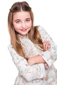 Portrait of a little girl — Stock Photo