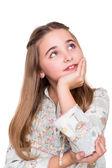 Retrato de uma menina — Fotografia Stock