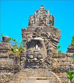Sculpture at Bali.Indonesia. — Stock Photo