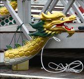 Dragon boat show and competition at Putrajaya. Malaysia. — Stock Photo
