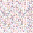 pintado a mano abstracta con textura de patrones sin fisuras — Vector de stock