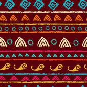 Tribal seamless pattern — Stock Vector