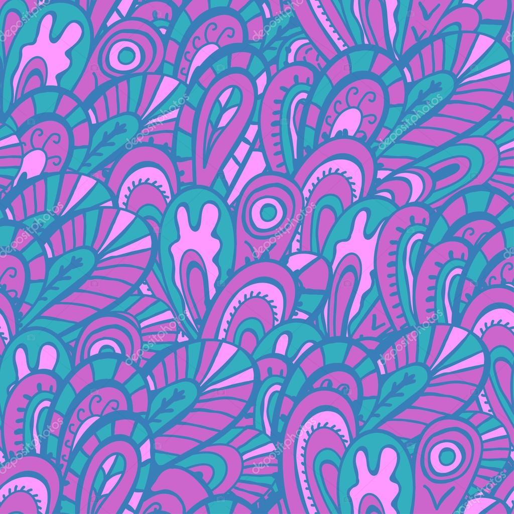 无缝模式的丁香 — 图库矢量图片