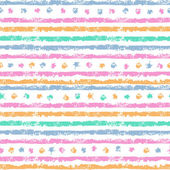 Shabby stripes seamless pattern — Stock Vector