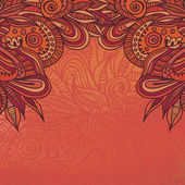 Quaint oriental background — Vector de stock