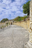Ancient theater at Altos de chavon, Dominican Republic — Stock Photo