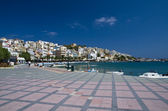 Promenade in Sitia — Stock Photo