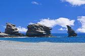 Playa de triopetra — Foto de Stock