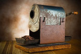 Vintage roaster coffee — Stock Photo