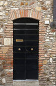 Italy. Old door, — Stockfoto