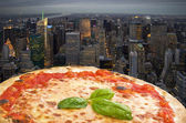 N.Y. Pizza — Stock Photo