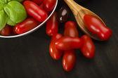 Tomaten für die soße — Stockfoto