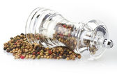Pepper grinder — Stock Photo