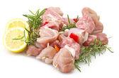 Chicken skewers — Stock Photo