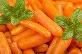 Małe marchewki — Zdjęcie stockowe