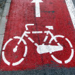 Bike lane 2 - Stockfoto