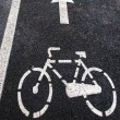 Bike lane 4 — Stock Photo