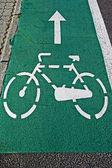 Bike lane 3 — Stock Photo