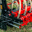 Agricultural equipment.Details 80 - Stock Photo
