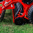 Agricultural equipment.Details 78 - Stock Photo