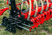 Agricultural equipment.Details 80 — Stock Photo