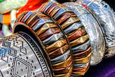 Bracelets and Jewelry — Stock Photo