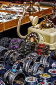 Trinkets, jewelry and antiques — Stock Photo