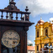 Old clock and history 2 — Stockfoto
