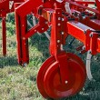 Agricultural equipment.Details 93 — Stock Photo