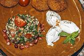食品 51 的安排 — 图库照片