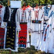 Romanian traditional costumes — Foto Stock