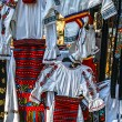 Romanian traditional costumes 1 — Stock Photo