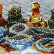 Stock Photo: Colorful bracelets and trinkets