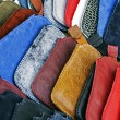 Colorful leather covers — Stock Photo