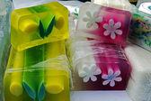 Szczęśliwy naturalne mydła dla dzieci 10 — Zdjęcie stockowe