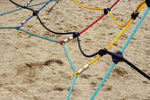 色の固定ロープを一緒に 2 — ストック写真