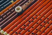 Wooden Whistles 1 — Stock Photo