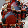 Stock Photo: Folk pottery 1