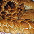 Foto Stock: Braided bread