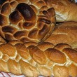 图库照片: Braided bread
