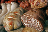 Romanian traditional sausages-1 — Stock Photo